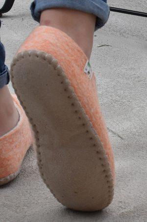 chaussons semelle souple