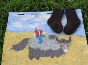 chussette bebe laine de yack