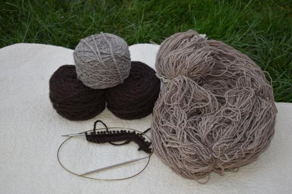 pelote de laine de Yack Chameaux et cachemire