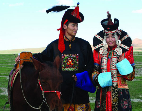 coiffures mongols