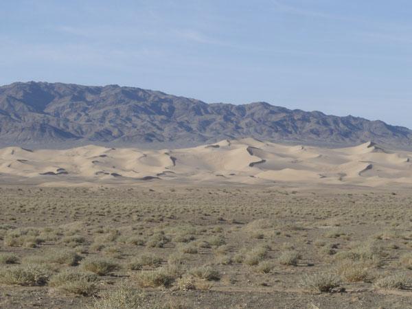 Le desert de Gobi en Mongolie