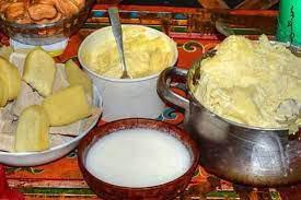 Produits laitiers mongols