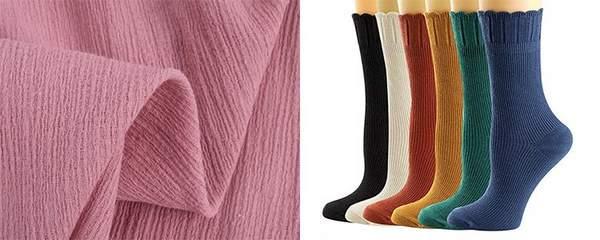Chaussette en coton