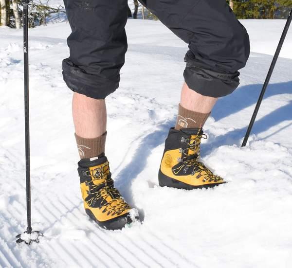 chaussettes de randonnée