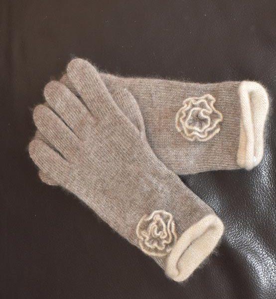gants jolis en laine